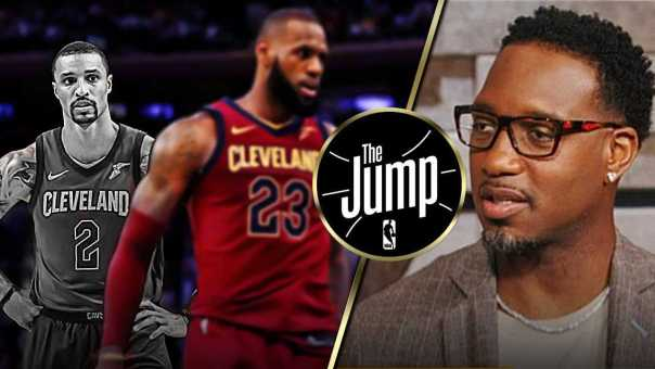 McGrady Thinks George Hill Defers to LeBron Way Too Often   The Jump