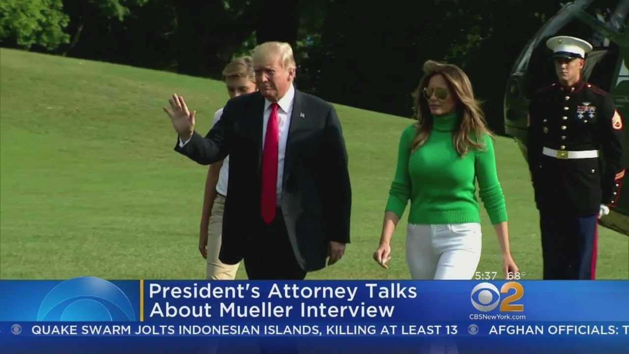 President's Attorney Talks About Mueller Interview