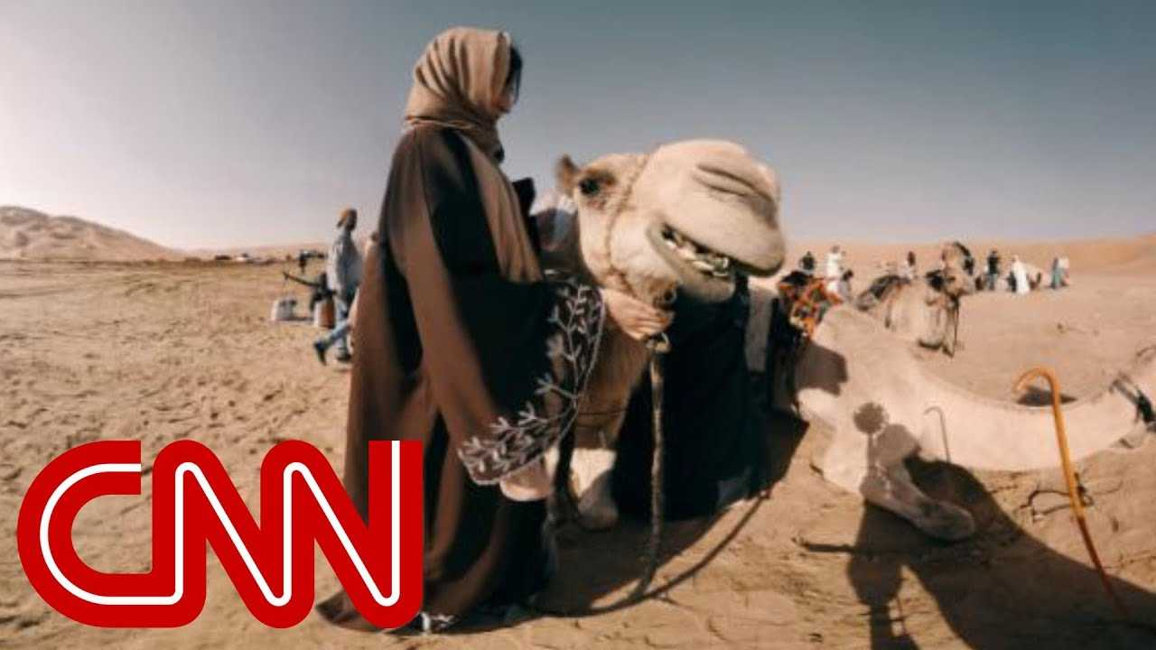 Ride a camel through the world's largest sand desert - 360 Video