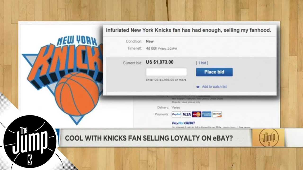 Someone is selling their Knicks fandom on eBay, but why now? | The Jump | ESPN