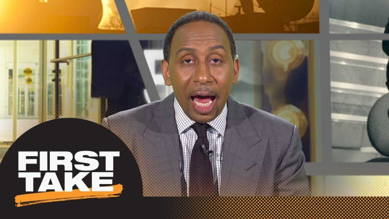 Stephen A. gives Sam Darnold's performance in preseason game a C+ | First Take | ESPN