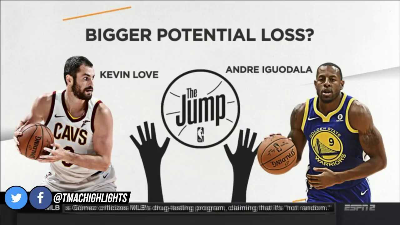 T-Mac & Byron Scott Debate Kevin Love or Andre Iguodala More Valuable For Their Team   The Jump