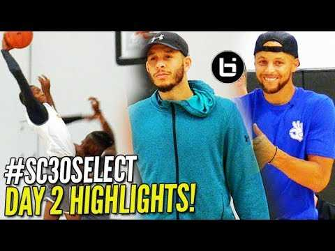 Team STEPH CURRY v. Team SETH CURRY at #SC30SelectCamp! Cole Anthony, Jalen Green & More!!