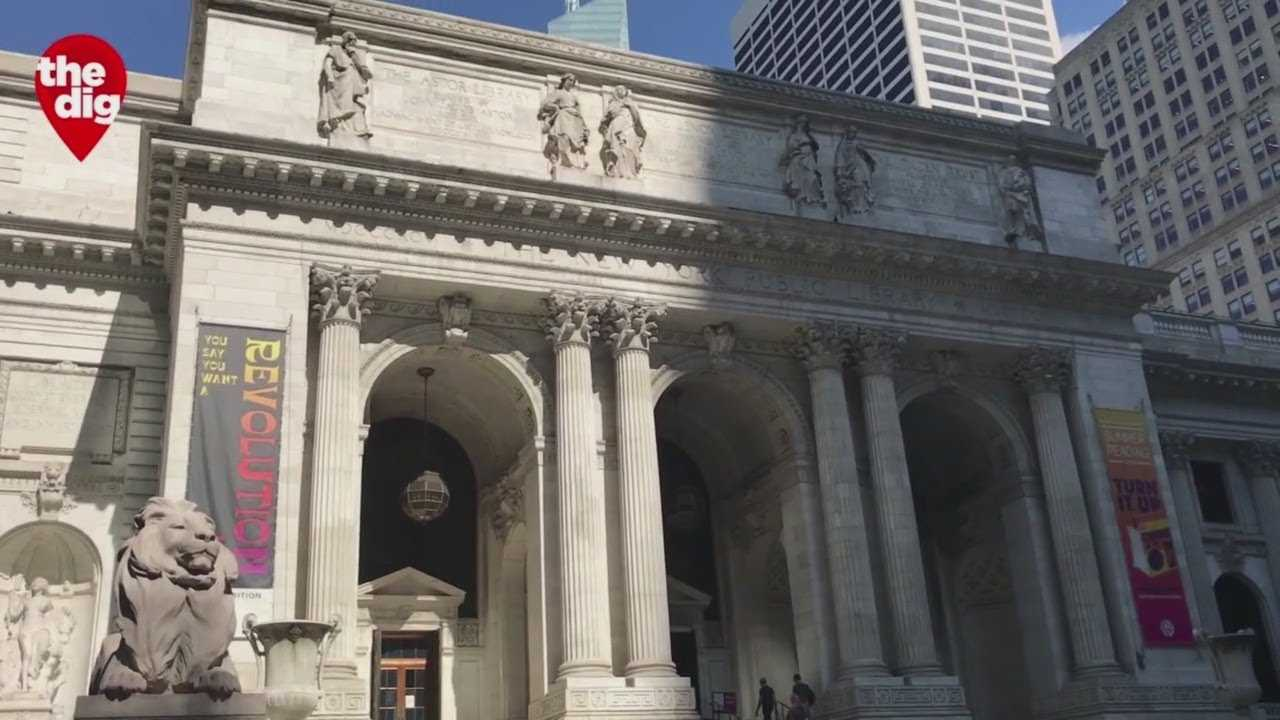 The Dig's Elle McLogan Heads To The NYC Public Library