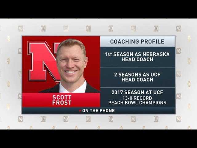 The Jim Rome Show: Scott Frost talks Nebraska football