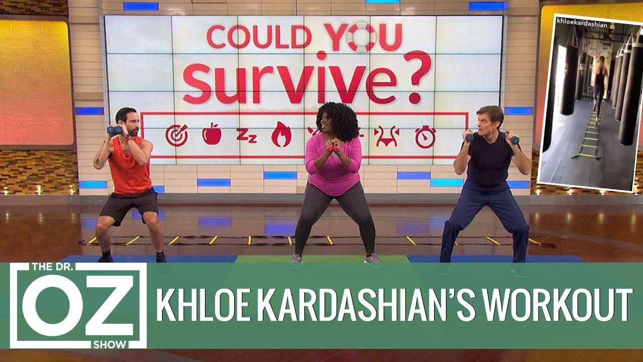 The Khloé Kardashian Workout Challenge