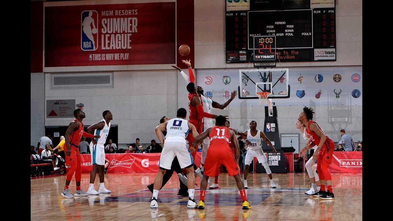 The Toronto Raptors Advance To The MGM Resorts Summer League In Thrilling Fashion vs The Hornets