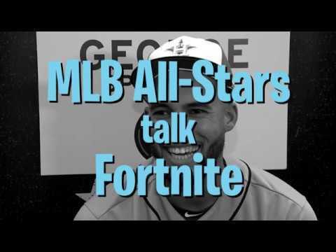 WATCH: Aaron Judge and MLB All-Stars talk Fortnite!!