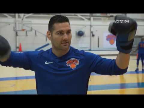 Weidman's World   Chris Weidman Throws Hands With Enes Kanter   New York Knicks   MSG Networks