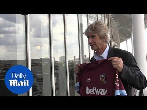 West Ham unveil Pellegrini, Wilshere and Felipe Anderson - Daily Mail