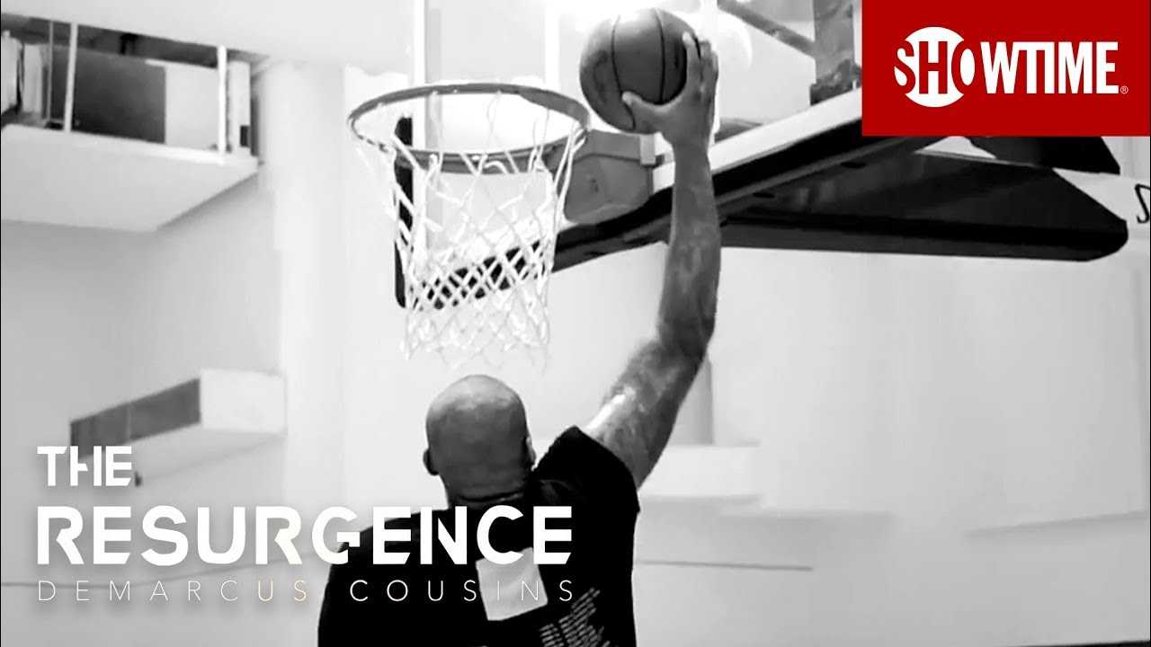 DeMarcus Cousins' First Dunk Since the Injury | THE RESURGENCE | SHOWTIME Sports