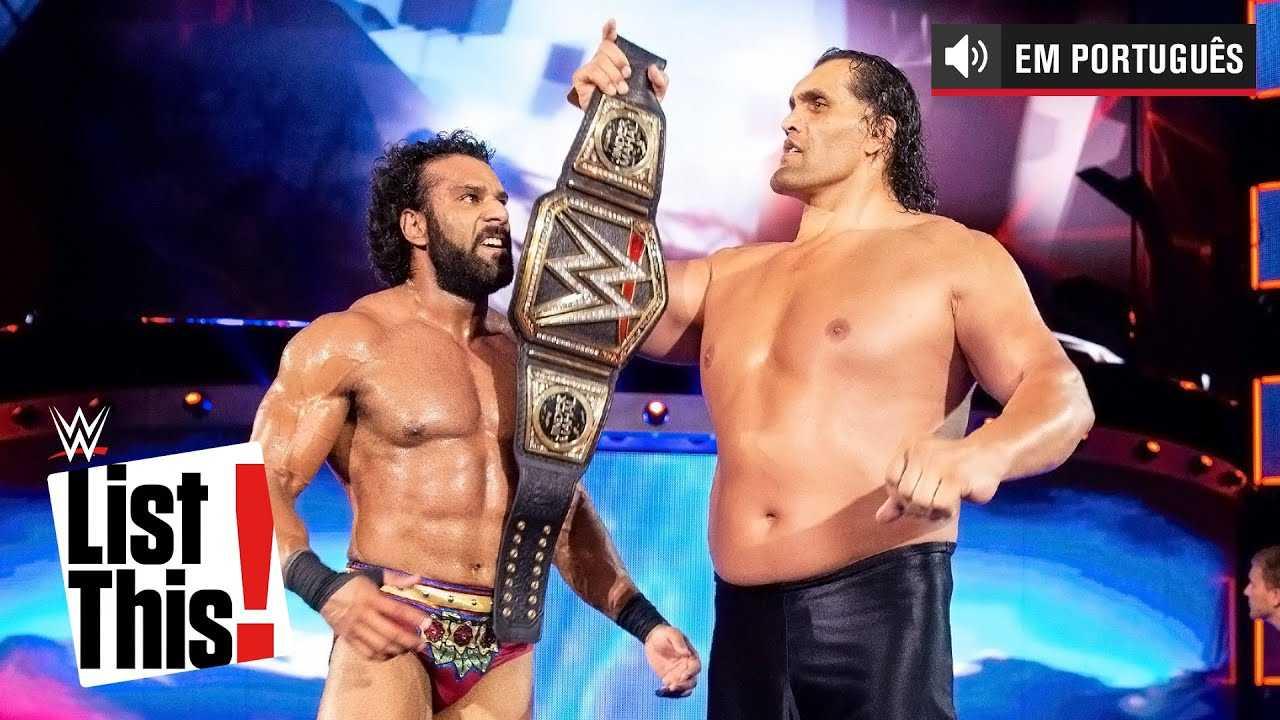 5 retornos aleatórios das Superestrelas: WWE List This! (PORTUGUES)