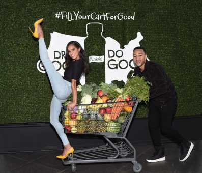 John Legend and Misty Copeland join Naked to help increase access to fresh fruits and vegetables