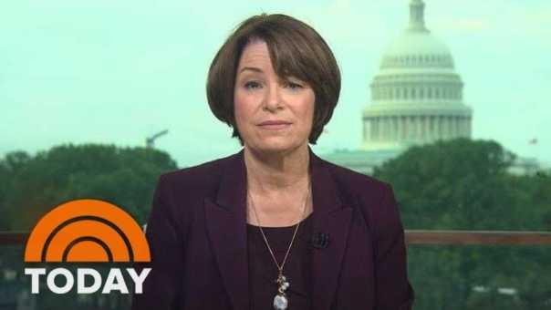 Amy Klobuchar Pushes For Investigation Ahead Of Brett Kavanaugh Vote | TODAY