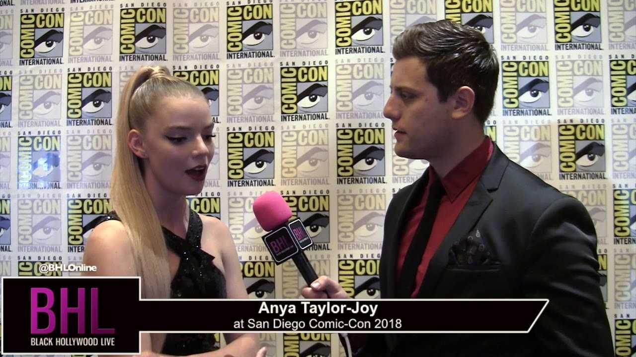 Anya Taylor-Joy (Glass)   San Diego Comic-Con 2018