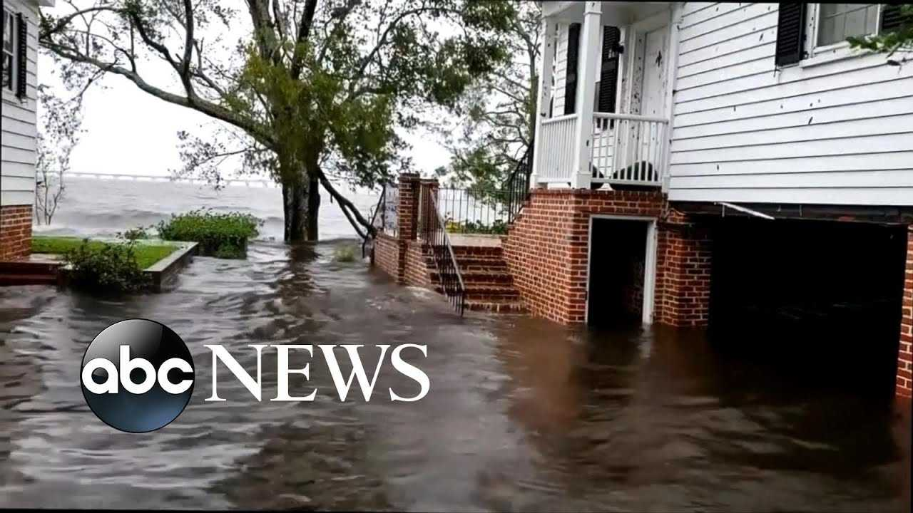 At least 7 dead as Florence drenches Carolinas
