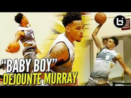 """""""Baby Boy"""" DeJounte Murray READY TO TAKE OVER for THE SPURS! Crawover League Highlights!"""
