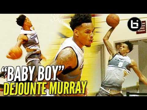"""Baby Boy"" DeJounte Murray READY TO TAKE OVER for THE SPURS! Crawover League Highlights!"