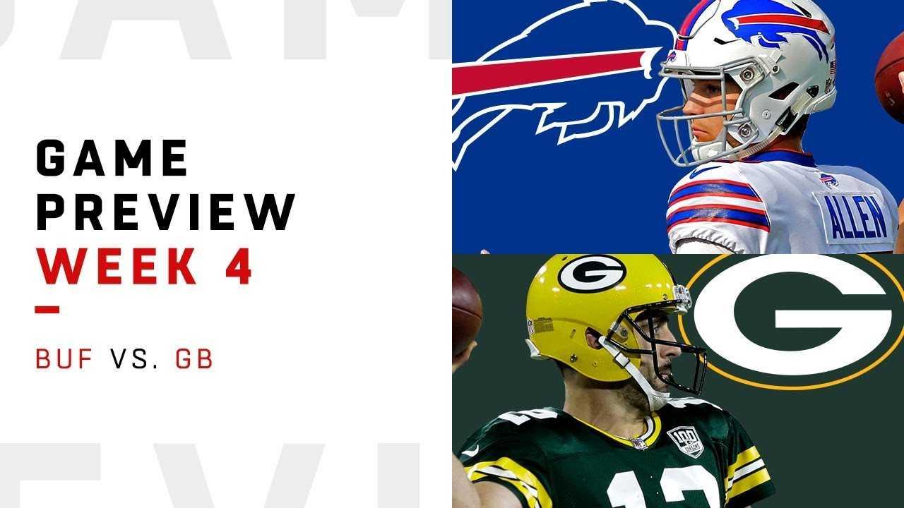 Buffalo Bills vs. Green Bay Packers | Week 4 Game Preview | NFL Playbook
