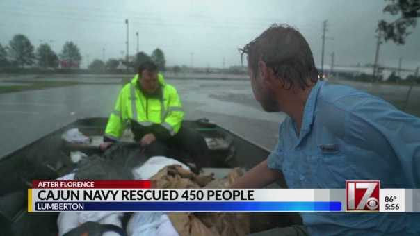 Cajun Navy returns home after rescuing about 450 people