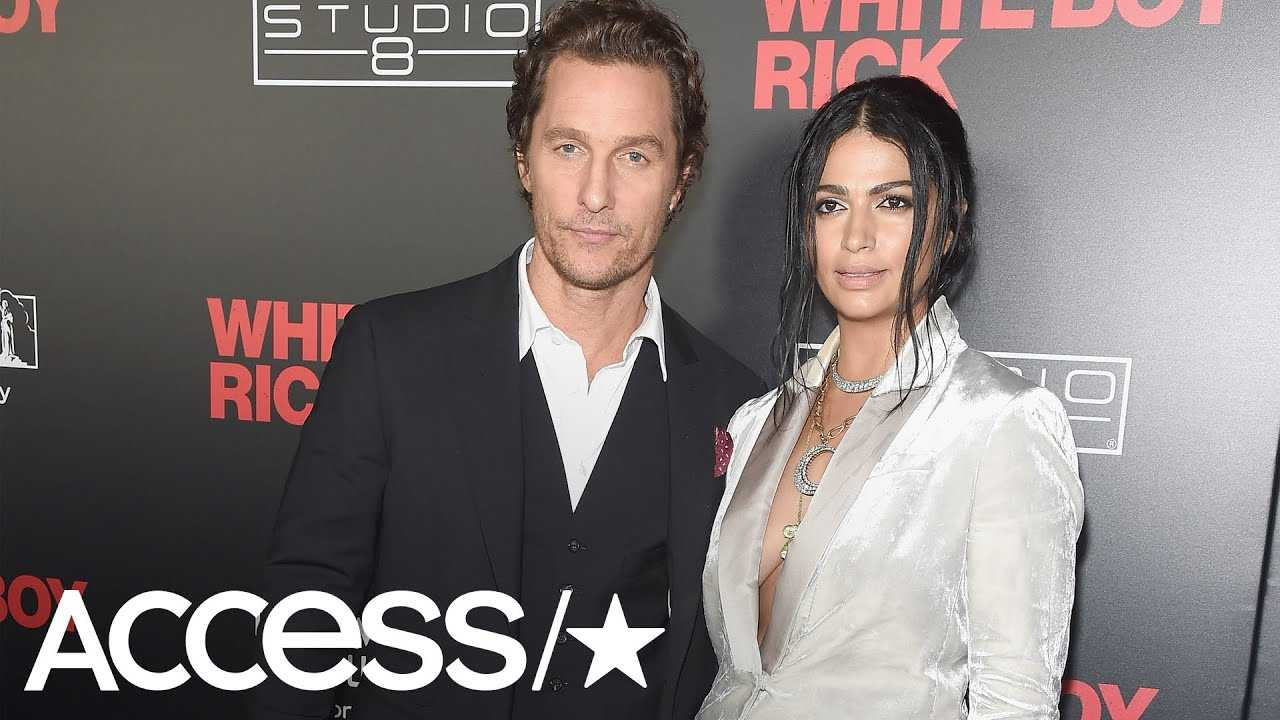 Camila Alves Upstages Her Husband Matthew McConaughey At A Screening Of 'White Boy Rick' | Access