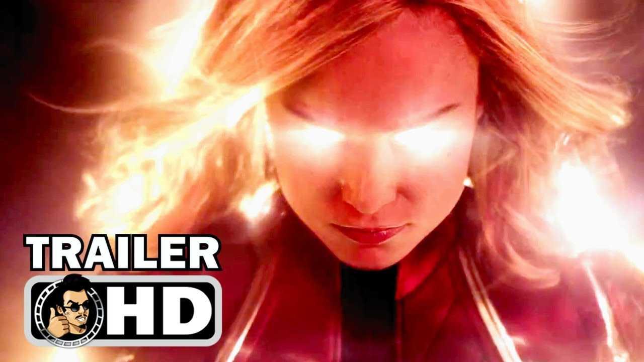 CAPTAIN MARVEL Trailer #1 (2019) Brie Larson Superhero Movie