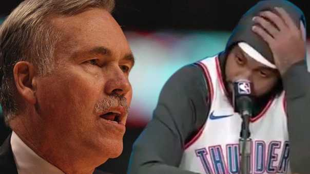 Carmelo Anthony NOT A STARTER! Is It Because of BEEF With Mike D'Antoni?
