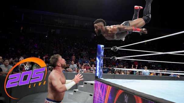 Cedric Alexander vs. Drew Gulak – WWE Cruiserweight Championship Match: WWE 205 Live, Sept. 19, 2018