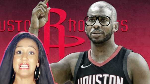 """Chris Paul getting TOO OLD For The NBA! Houston Doesn't Want To """"Overextend"""" CP3 This Season"""