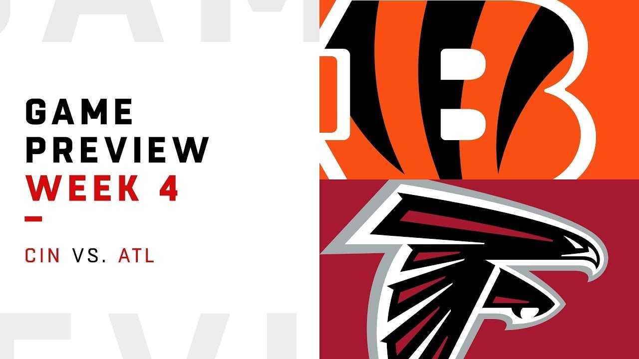 Cincinnati Bengals vs. Atlanta Falcons | Week 4 Game Preview | NFL Playbook