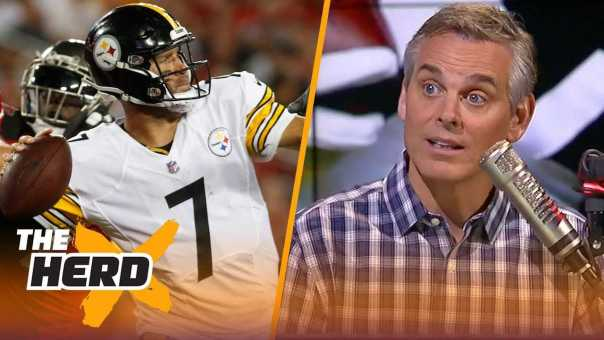 Colin Cowherd on Pittsburgh's win over Tampa Bay, Le'Veon's next team | NFL | THE HERD