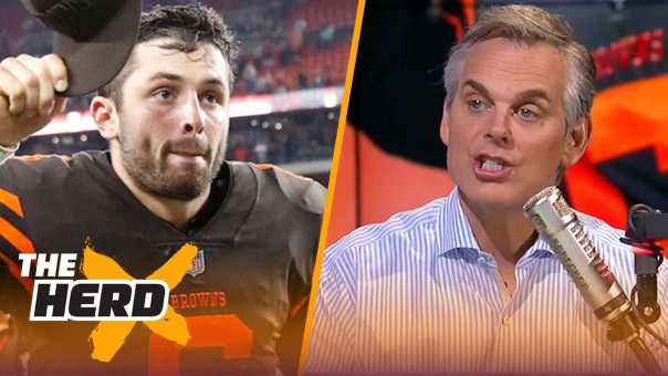 Colin Cowherd reacts to Baker Mayfield's jersey sales being in the top 10 | NFL | THE HERD