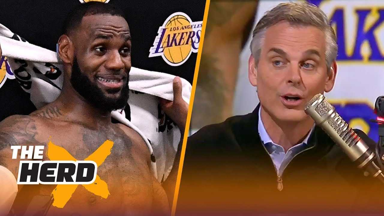 Colin Cowherd: 'The Lakers needed LeBron more than LeBron needed the Lakers' | NBA | THE HERD