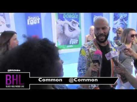 """Common talks about his upcoming role as Stone Keeper in the new animation """"Small Foot"""""""