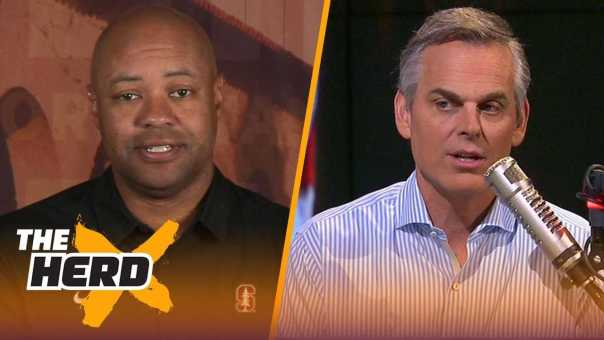 David Shaw looks ahead to key match up against Notre Dame and talks Bryce Love | CFB | THE HERD