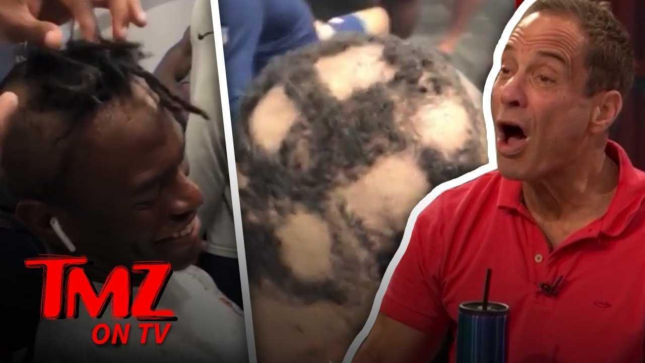 Denver Broncos Haze Rookies with Terrible Haircuts! | TMZ TV