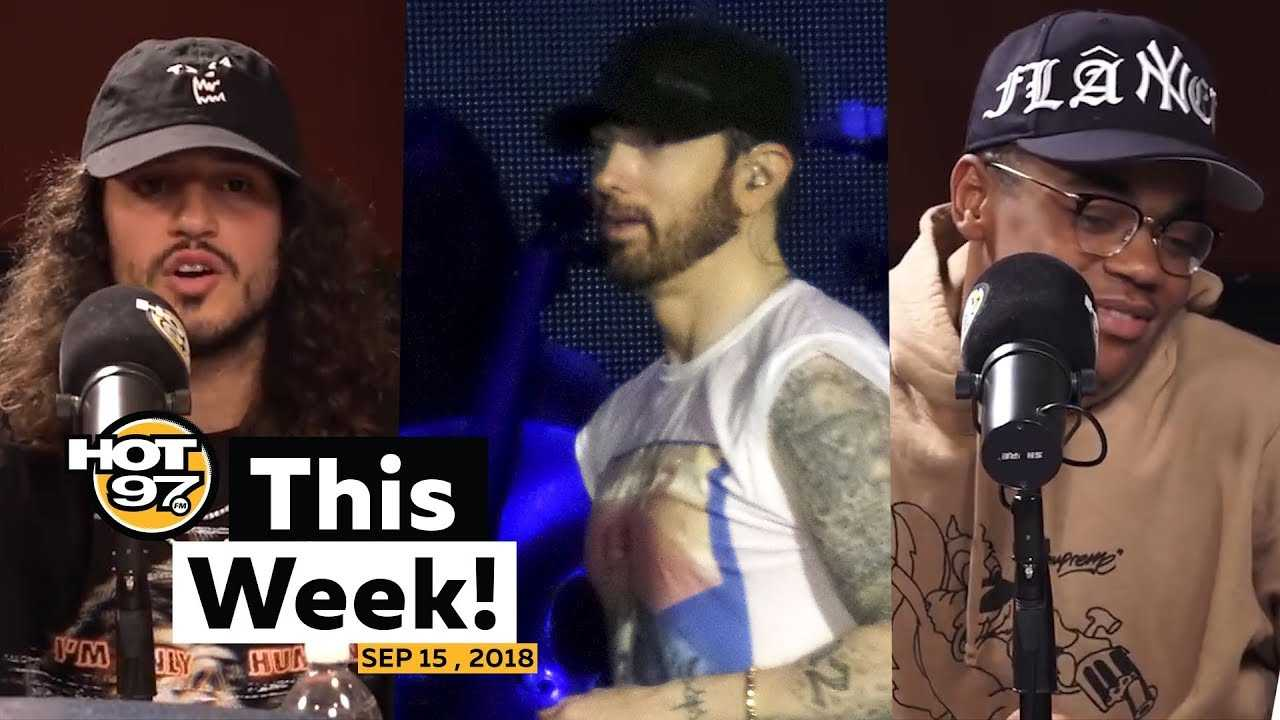 Did Eminem's interview feel scripted? Power's Michael Rainey + Russ on HOT 97 This Week!