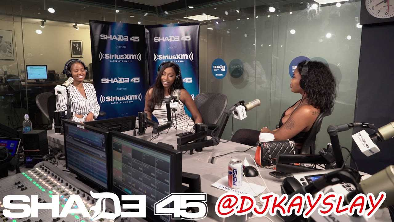 Dj Kayslay interviews Chinese Kitty on SiriusXM