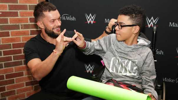 Finn Bálor grants his first individual wish