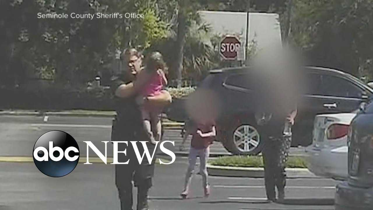 Fla. deputy is reunited with girl he rescued from hot car