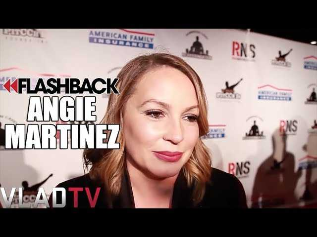 Flashback: Angie Martinez - 50 Cent is the Best When it Comes to Online Wars
