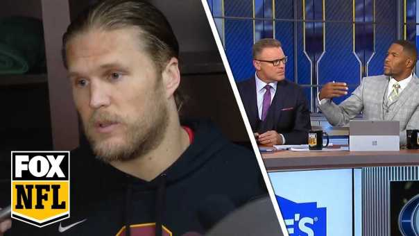 FOX NFL crew react to Clay Matthews' roughing the passer comments | FOX NFL