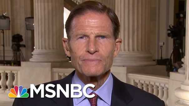 Full Blumenthal: Kavanugh Would Be A 'Threat' To The 'Administration Of Justice' | MTP Daily | MSNBC