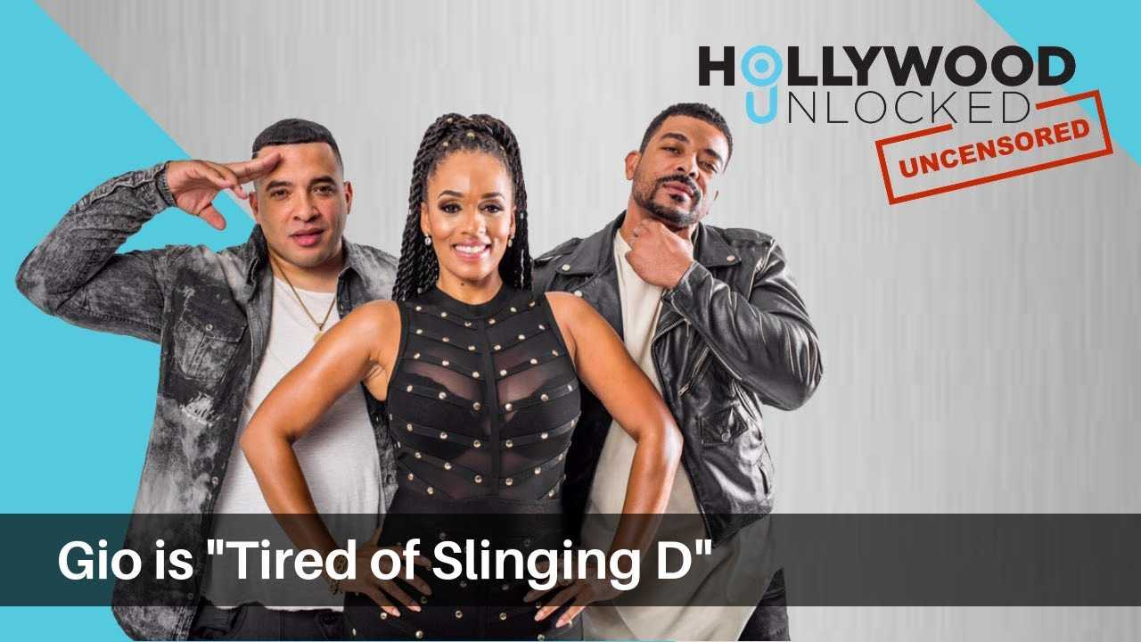 """Giovanni Says He Is """"Tired of Slinging D"""" on Hollywood Unlocked [UNCENSORED]"""