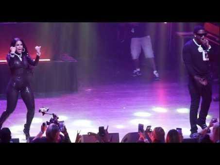 Gucci Mane Brings Wife Keyshia Ka'oir On Stage In ATLANTA Crowd Go Wild
