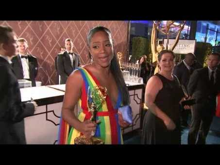 Haddish: 'I never was mad at Katt'