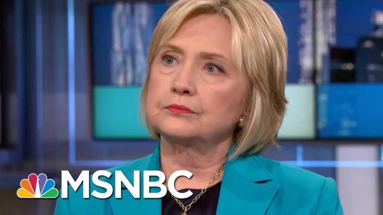 Hillary Rodham Clinton Envisions Packed Agenda If Democrats Retake Congress   Rachel Maddow   MSNBC