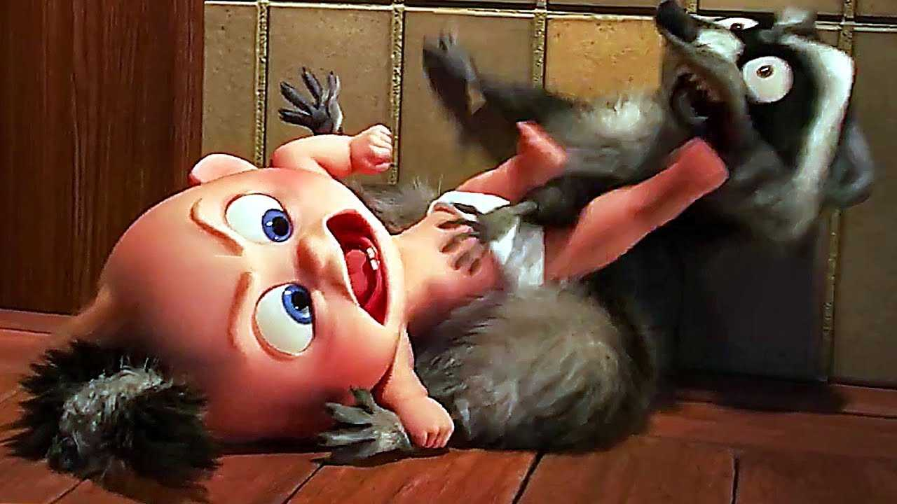 INCREDIBLES 2 Jack Jack VS Raccoon FULL Scene (Animation, 2018)