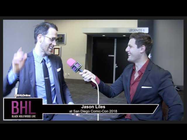 Jason Liles (Rampage)   San Diego Comic-Con 2018