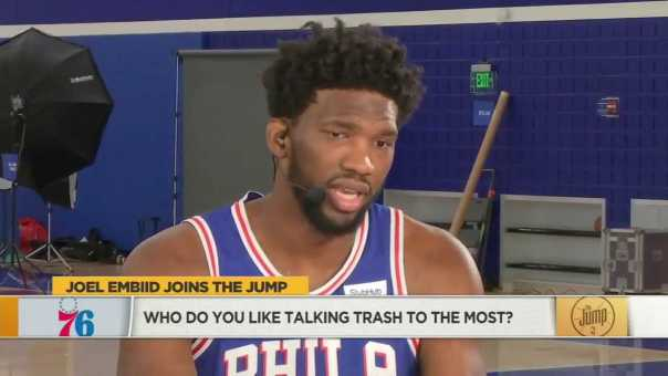Joel Embiid says Deandre Ayton is about to get his a** kicked this year